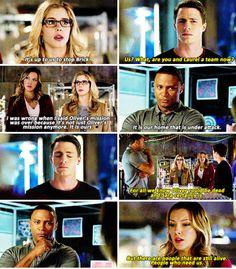 Arrow - Diggle, Roy, Felicity & Laurel #3.11 #Season3