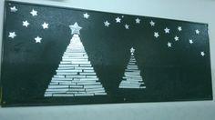 Arbe de Nadal fet de trocets de tetrabric DIY Christmas tree