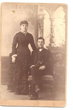 This is an original photo of Paulita Maxwell and Jose Jaramillo on their wedding day. It is from Paulita Maxwell's own family album. The album is now in the possession of her great grandaughter. William H Bonney, Billy The Kids, War Photography, Family Album, Old West, Vintage Pictures, Vintage Photographs, Family History, Old Photos