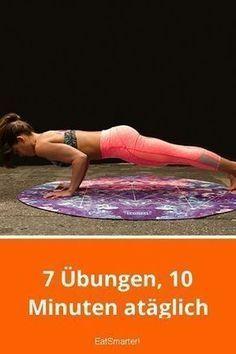 Schnell abnehmen: 7 Übungen, 10 Minuten am Tag   eatsmarter.de