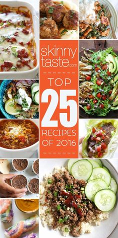 Top 25 Most Popular Skinnytaste Recipes 2016 | Skinnytaste | Bloglovin'