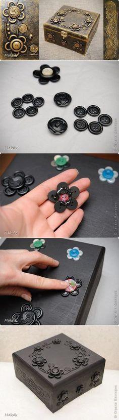 MDF e botões!!