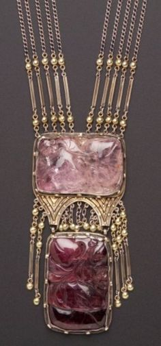 Arts and Crafts movement...Josephine Hartwell Shaw necklace. This is beautiful!!