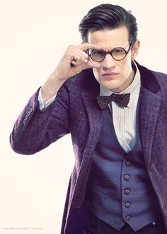 The Doctor's new look  I am nearly there just need jacket pants glasses and bowtie (oh and the hair)