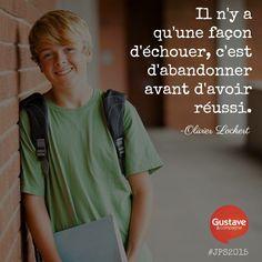 Journées de la #persévérance scolaire au Québec: éveillons nos jeunes à leur immense potentiel! #JPS2015 #DevenonsDesAS #Citation