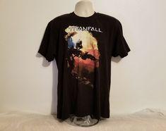 Titanfall Adult Black XL T-Shirt #Titanfall #GraphicTee