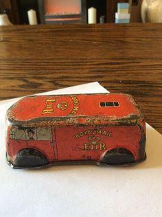 Old Tinplate Post Office Delivery Van A/F Dinkey ? | eBay