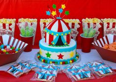 Visit the post for more. Carnival Birthday Parties, Circus Birthday, First Birthday Cakes, First Birthday Parties, First Birthdays, Birthday Ideas, Birthday Boys, Circus Theme Cakes, Circus Theme Party