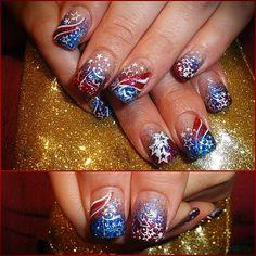 2012 4TH JULY by Nailsbydina - Nail Art Gallery nailartgallery.nailsmag.com