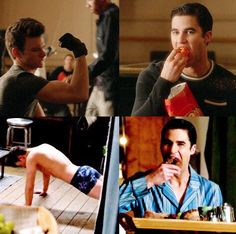We're all Blaine in these scenes haha