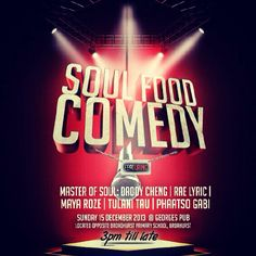 Comedy Show Flyer Templates