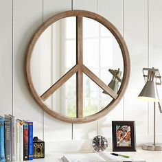Peace Mirror from PBteen. Shop more products from PBteen on Wanelo. Bedroom Decor, Wall Decor, 60s Bedroom, Girls Bedroom, Bedroom Ideas, Bedrooms, Teen Bedding, Pottery Barn Teen, Pbteen