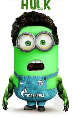 I'm screaming because I've seen yellow and purple minions but never green..... I've stopped screaming now. It's sorta funny!