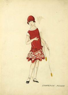 Jeanne Lanvin, croquis petites filles modèles, mode enfantine, robes