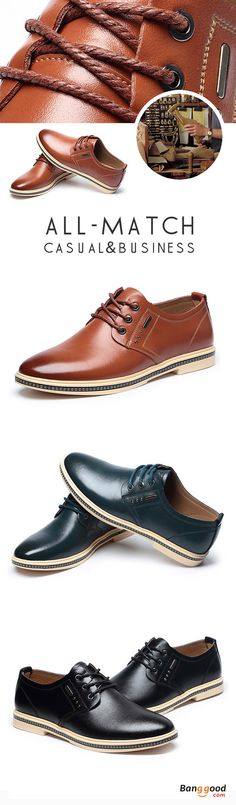 US$44.91+Free shipping. Men Oxfords, Genuine Leather Business Lace Up Oxfords, All-match, Casual, Business, Color: Black, Blue, Brown. Shop now~