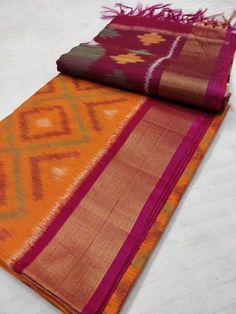 New ikkath sico Sarees Blue Silk Saree, Kota Silk Saree, Raw Silk Saree, Bridal Silk Saree, Silk Cotton Sarees, Saree Wedding, Dhakai Jamdani Saree, Khadi Saree, Lehenga Saree