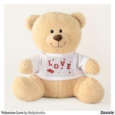 Valentine Love Teddy Bear Baby Teddy Bear, Teddy Bear Gifts, Teddy Bears, Teddy Toys, Christmas Teddy Bear, Popular Toys, Somali, Birthday Design, Dog Bowtie