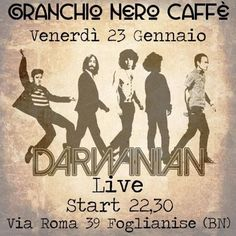GRANCHIO NERO LIVE MUSIC - DARWINIAN LIVE