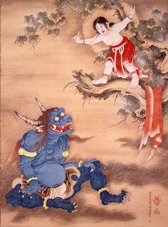 Soga Shohaku, Sessendoujizu, Keishouji Temple