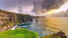 Bing Image Archive: Cliffs of Moher at sunset, County Clare, Ireland (© Patryk Kosmider/Shutterstock)(Bing Australia)