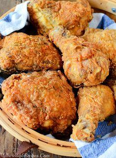 Recipe For Kentucky Fried Chicken, Best Fried Chicken Recipe, Best Chicken Recipes, Kfc Chicken Recipe Copycat, Kentucky Chicken, Chicken Recepies, Oven Fried Chicken, Chicken Meals, Chicken Nuggets