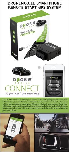 DroneMobile Smartphone Remote Start GPS System