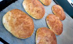 Polarbrød, bytt ut mager kesam med 1 ss creme fraiche og 2 ss kremost