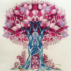 Johanna Basford | Colouring Gallery | By Chris Cheng