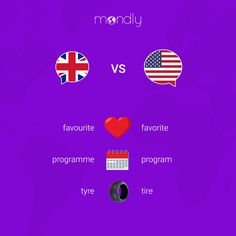Learn languages online for free with Mondly, the language learning app loved by millions of people worldwide. Immersive, interactive, and fun. British And American Words, English Vinglish, British English, Learn Languages Online, Best Brain Teasers, Good Vocabulary Words, Words To Use, Learn English Words, English Language Learning