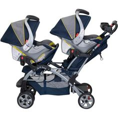 Baby Trend - Sit N Stand Double Stroller, Riviera - Walmart.com