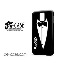James Bond 007 Black And White Party Invitations Tie DEAL-5780 Samsung Phonecase Cover For Samsung Galaxy S5 / S5 Mini