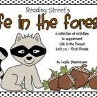 In this collection, I've created activities to supplement the Unit 2.5 Life in the Forest story in the Reading Street series.  It is specifically f...