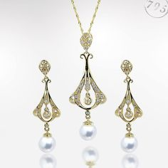 Vintage795 by Imperial: By blending sophisticated old world styling with high end materials such as 14k gold, flawless Akoya pearls, and shimmering diamonds we have created a true heirloom quality collection that will never go out of style.