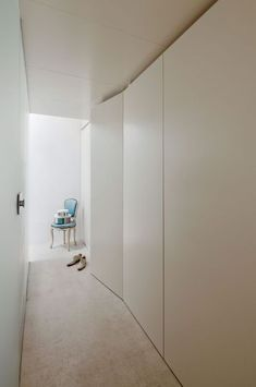 inspiration for integrated entrance cupboard