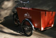 repeating myself: bakfiets.nl cargotrike. Solid & safe marine multiply wooden box, weatherproof