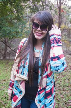 Love this Southwestern/Aztec sweater!