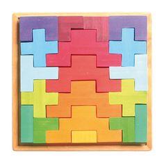 Puzzles & Geduldspiele 15 Teile Puzzle Spiel Deutsch 2017 Giant Town Jigsaw Geduldspiel