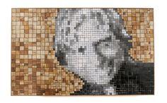 Abdul Kalam - Painted Wood Mosaic Portrait- September 2016 by Sureel Kumar at SureelArt. Made with teak pieces, plywood, oil paints and wood sealer. Wood Sealer, Mosaic Portrait, Abdul Kalam, Wood Mosaic, Painted Wood, Painting On Wood, September, Artwork, Work Of Art