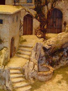 Nativity House, Diy Nativity, Christmas Nativity Scene, Christmas Villages, Christmas Crib Ideas, Christmas Crafts, Christmas Decorations, Christmas Christmas, Handmade Christmas