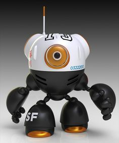 ROLY by Norio Fujikawa, via Behance | Character Design | 3D | Pintere…