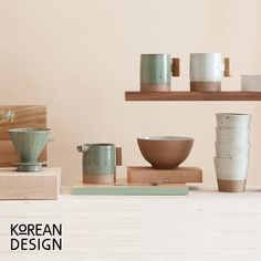 Handgefertigtes Keramik-Geschirr