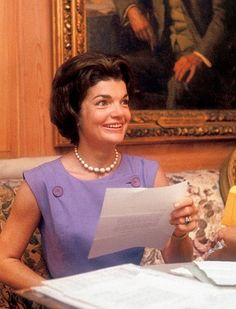 The Devoted Classicist: Jacqueline Kennedy's Green Room, Photo: Life Magazine 1962