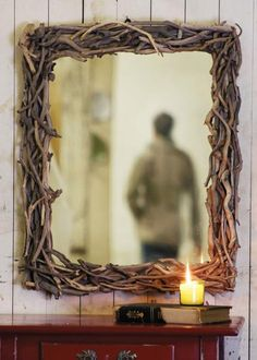 driftwood mirror | made in the Philippines