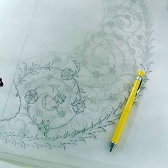 Arabic Pattern, Pattern Art, Sewing Piping, Painting Inspiration, Design Inspiration, Islamic Patterns, Turkish Art, Islamic Art Calligraphy, Amazing Drawings