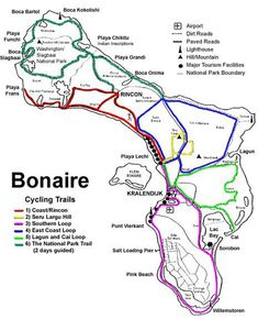 Cycling Trails of Bonaire.