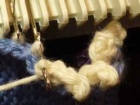 Picot Bind Off Tutorial For Machine - Single Bed | Machine Knitting Tutorial