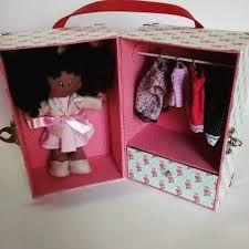 Resultado de imagen para maleta cartonagem boneca