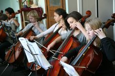 Tamarack's primary goal is not to turn out musicians, but to broaden our students' experiences, and encourage complex thinking and aesthetic sophistication. Tamarack Waldorf School believes music education has a tremendous impact on developing a well-rounded student.