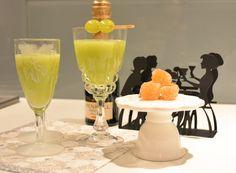Druivensap met komkommer :: De Voedingsapotheek. Een feeselijk drankje door hier iets aan toe te voegen: Prosecco!