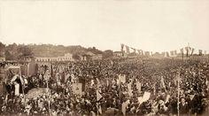 With the presence of Princess Isabel, religious ceremony celebrated in thanksgiving for the Abolition of slavery in Brazil, São Cristóvão, Rio de Janeiro, May 17, 1888. Photo: Antonio Luiz Ferreira